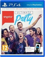 Singstar Ultimate PS4 -  superb condition quick dispatch