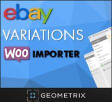EBAY VARIATIONS WOOIMPORTER PLUGIN FOR WORDPRESS MARKETING