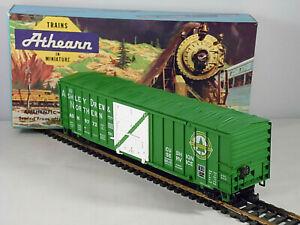 Athearn Ashley Drew & Northern 50' Sliding Door Box Car # ADN 9772  HO Scale