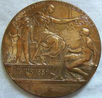 MED8099 - MEDAILLE EXPOSITION UNIVERSELLE PARIS 1889 par DANIEL DUPUIS