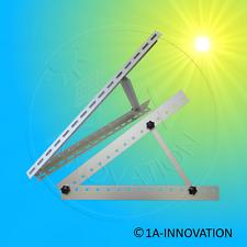 Solarhalterung Befestigung verstellbar 557mm passend bis100Watt Module Halterung