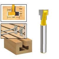 """1/4"""" 6.35mm Schaft T-Nut Cutter Fräser für Sechskantschraube für Holzbearbeitung"""