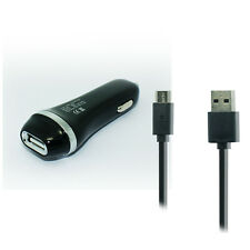 2A Car Charger+5ft USB Cable for ATT Samsung Galaxy S5 Active SM-G870A, S5 G900A