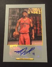 TJ Ford Raptors Texas Pacers 2006 Topps Authentic Signed Certified JG7