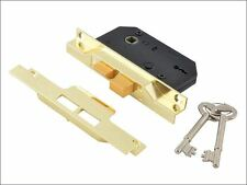 UNION - 2242 2 Lever Mortice Rebated Sashlock Electro Brass 65.5mm 2.5in Visi