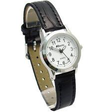 Ravel Ladies Super-Clear Easy Read Quartz Watch Black Strap R0130.02.2