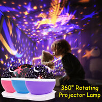 Romantic Star light LED Starry Night Sky Projector Lamp Cosmos Master Kids Gifts