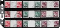 1940s Stamp group / Third Reich issues / Linden Leaves / Germany Occupation