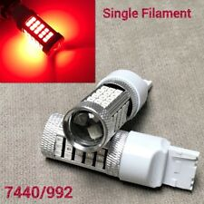 Rear Signal Light T20 7440 992 WY21W 63 samsung LED RED Bulb for Nissan infiniti