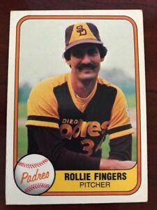 1981 Fleer Baseball - You Pick - Complete Your Set