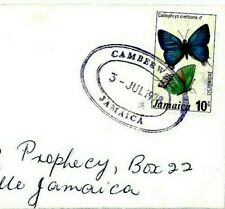 CS83 Jamaica Superb *Camberwell* TRD 1978 Cover BUTTERFLIES {samwells-covers}