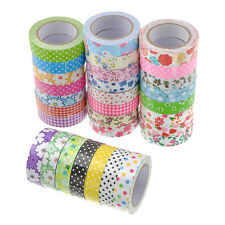 15mm Fashion Washi Scrapbook Masking Sticker Tape Craft DIY Decorative Labelling