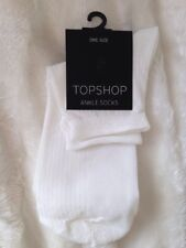 Topshop Girls' Sparkly White Lurex Socks - Iridescent, Glittery, Icicle -BNWT! ✨