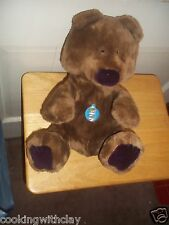 RARE VINTAGE 1984 HARD TO FIND  DAKIN PLUSH DOLL FIGURE BROWN BEAR NOVELTY TOY