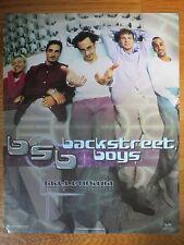 """1999 BACK STREET BOYS """"Millennium"""" Poster NICK CARTER A. J. McLean"""