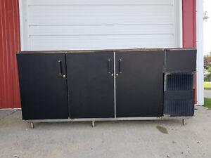 Perlick C5064E-SC-UL 3 Door Bar Back Cooler 115 Volt