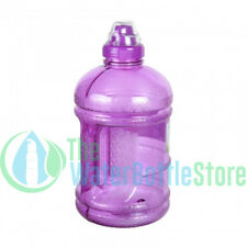1/2 Half Gallon 64oz BpA Free Drinking Plastic Water Bottle w/ Sports Top Purple