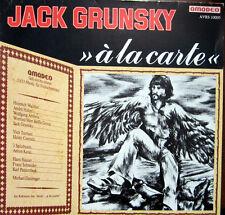 LP / JACK GRUNSKY / A LA CARTE / AMADEO / AUSTRIA / RARITÄT /
