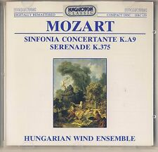 Mozart - Hungarian Wind Ensemble: Sinfonia Concertante (Hungaroton) Like New