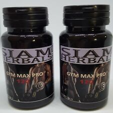 2 x GYM MAX PRO ANABOLIC -STRONGEST LEGAL TESTOSTERONE MUSCLE BOOST BODYBUILDING