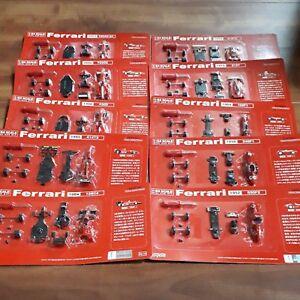 Ferrari 1/64 Kyosho X Dydo Promo F1 Vol.2 10 Auto Lotto Completo Non Montato F/