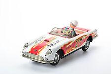 #Antique Tin Toy Bandai Japan Race Car Ferrari Rally Japanese Old Daiya Speed