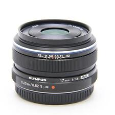 Olympus M.ZUIKO DIGITAL 17mm F1.8  Lens 17 f/1.8 NEW from Japan Black