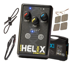 E-Stim Helix Blue 5 Estim/tens Modes +Pads+Loops Fast Dispatch Discreet Packing