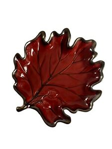 Target Casual Home Maple Leaf Bowl Fall Décor Candy Dish Autumn Tray