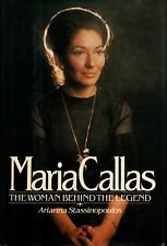 """ARIANNA STASSINOPOULOS """"MARIA CALLAS: THE WOMAN BEHIND THE LEGEND"""" HB 1981 s&s"""