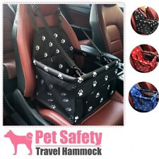 Portable Dog Car Seat Belt Booster Travel Carrier Folding Bag for Pets Cat Puppy