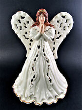 Lenox 2001 Fine Ivory China Angel Of Adoration Votive (Le)
