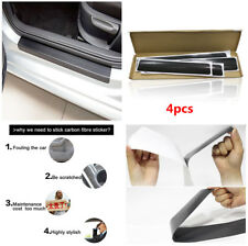 3D Carbon Fiber Style Door Sill Scuff Welcome Pedal Threshold  Protect Stickers