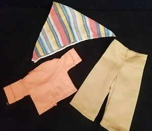 My Friend Fisher Price Doll Outfit Country Fair Shirt Scarf and Camping Pants