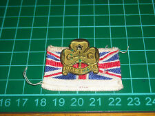 girl scout  boy scout vecchio stemma girl guides antico pin spilla distintivo