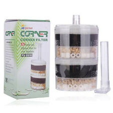 Air Driven Bio Corner Filter Sponge Fry Shrimp Nano Fish tank Aquarium 40 Gallon