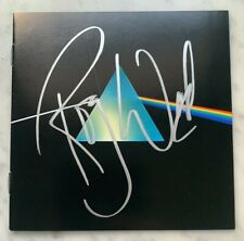 "Roger Waters Signed ""Dark Side of the Moon"" CD Booklet Pink Floyd Autograph"