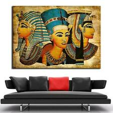 Egypt Figures Wall Artwork Giclee Retro Figures Canvas Print Painting Home Decor
