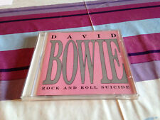 David Bowie Rock and Roll Suicide CD 1989 Great Dane Italy Import Ziggy Stardust