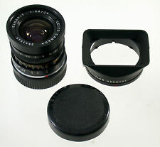 Elmarit M 2,8/28 28mm f2, 8 Leica m3 m6 MP m9 LEITZ no. 2543945 + Hood 12501