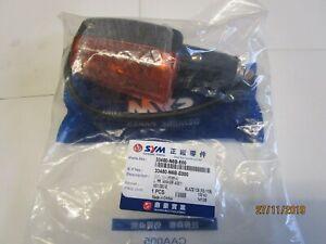 SYM XS125 L/H FRONT INDICATOR/WINKER LAMP ASSY 33450N6BE00