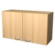 Küchenschrank Küche Hängeschrank Lima 32 x 100 x 54 cm Buche, Küchenmöbel