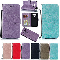 Magnetic Strap Leather Flip Wallet Stand Case Cover Fr LG Stylo 4/5/G8/V40 ThinQ