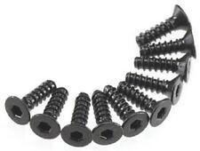 Axial Hex Socket Tap Flat Head M3x10mm Black (10) AXA465