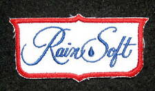 """RAINSOFT EMBROIDERED SEW ON ONLY PATCH WATER SOFTENER TREATMENT 3 1/2"""" x 2"""""""