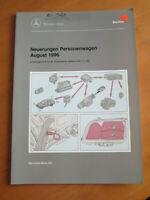 Mercedes Service Neuerungen PKW August 1996 - M 104 ME 2.1 - M 111 -ME 2.1 ....