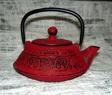 Cast Iron Tetsubin 12oz teapot with Infuser
