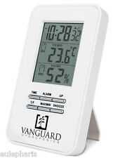 Termohigrometro + Reloj y Alarma Termometro/Higrometro Temperatura/Humedad Grow
