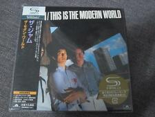 THE JAM this is modern world JAPAN MINI LP SHM CD PAUL WELLER STYLE COUNCIL SEAL