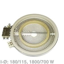 Heizkörper Hilight Ceranplatte 2-Kreis 1800/700W EGO 1058213032  10.58213.032